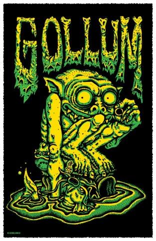 acid vomit gollum