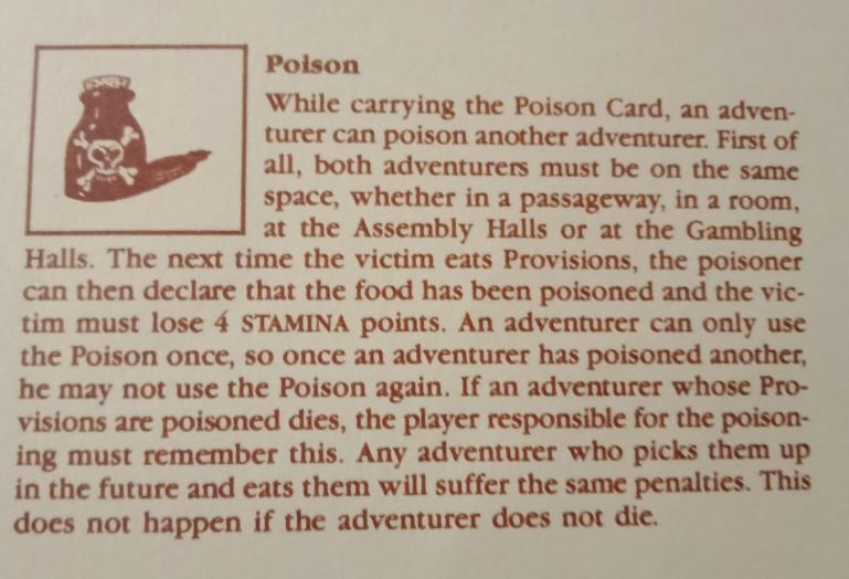 warlock poison