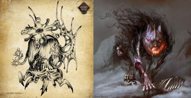 Machina Arcana art comparison
