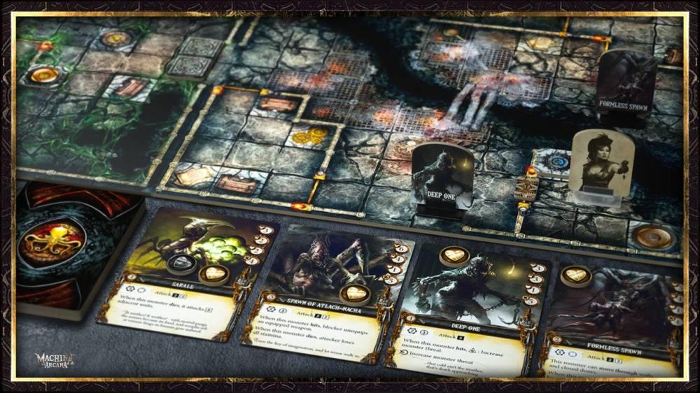 Machina Arcana boardgame2