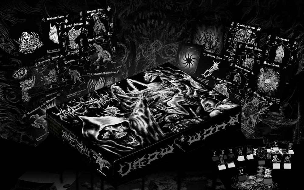 cave evil box and bits